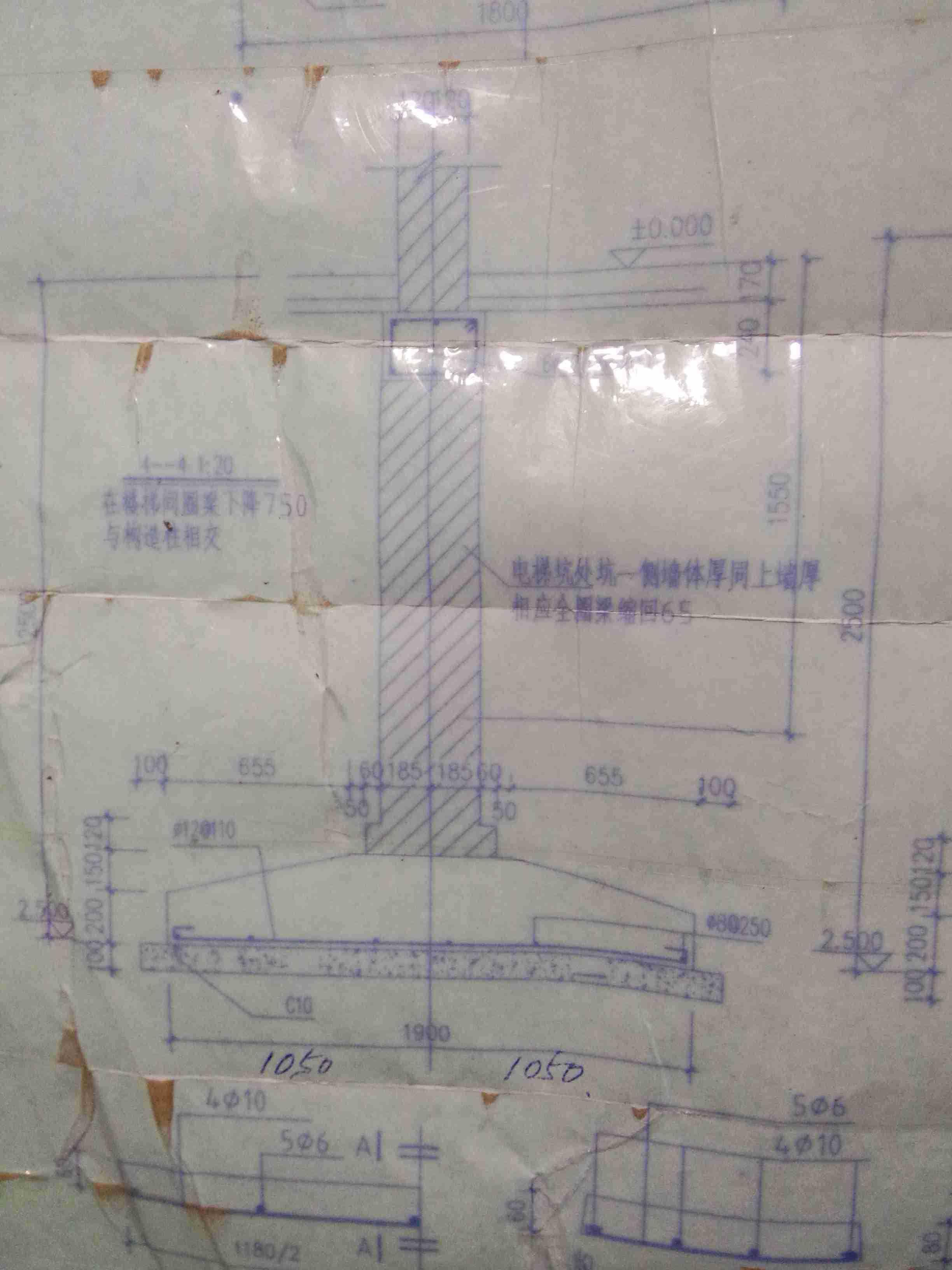 CAD图纸不了分解梯一两户cad图图片
