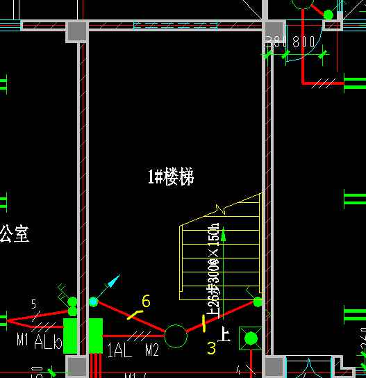 单控照明控制电路图