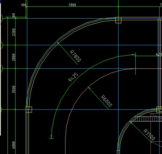 地下车库弧形坡道怎样设置?