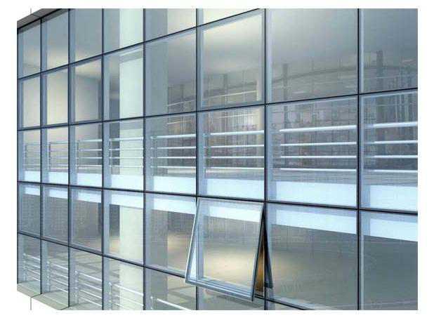 框玻璃幕墙图纸