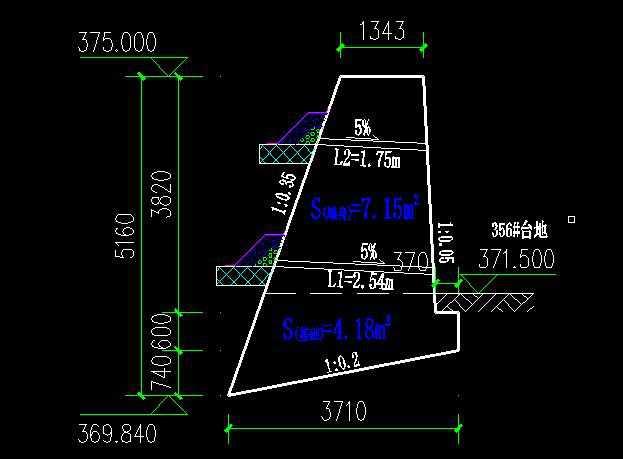 衡重式挡土墙标准图_衡重式挡土墙面积计算,衡重式挡土墙面积计算知识 - 建筑施工 ...