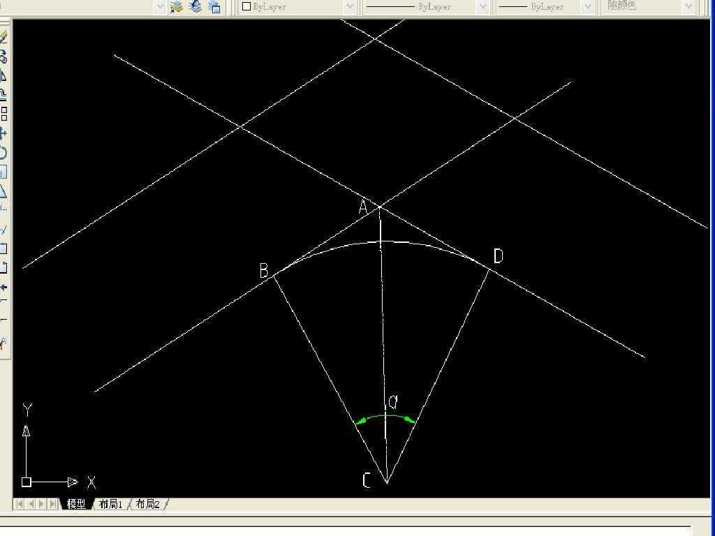 平面交叉设计的步骤