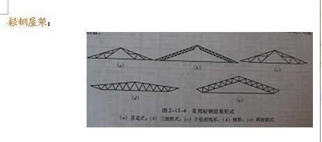 请问钢屋架与桁架的区别