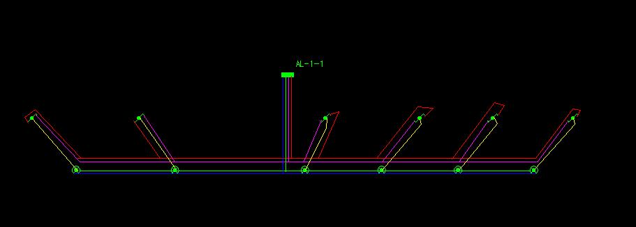 如图 应急照明配电箱,穿四根线照明回路接线问题 - 云