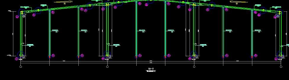 已知道桥架高度6.0m 卤化灯杆吊高度H=8m 电线管线都是CE敷设的 问题来了如果是沿着顶板的话那就是从9m-12.13斜着向上 那是否可以在8M高度弄一个直杆然后把电线管固定在直杆上 另外一个是桥架6.0m高度到底是固定在钢结构什么上的在预算中应该套取什么定额是否要增加支架的费用 .