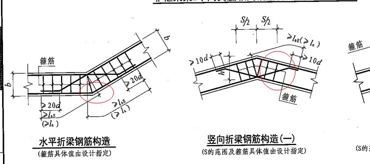 坡屋面框架梁的底筋锚固是朝上吗?